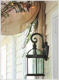 Home Decor With Burlap Decorating A Porch With Burlap Ribbon Hometalk