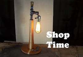 how to make a steampunk desk lamp youtube