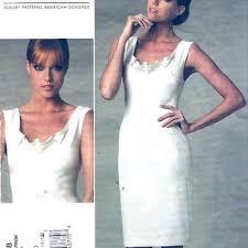 vogue wedding dress patterns shop vogue evening dress patterns on wanelo