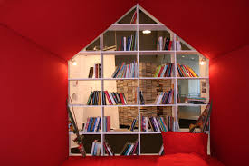 free images book house home red shelf living room