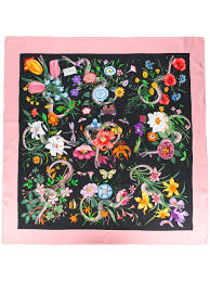 flowers store near me gucci sale shoes gucci floral snake print scarf 1072 black pink