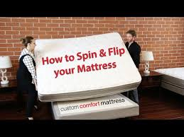 Custom Comfort Mattress Help Your Mattress Wear Evenly With This Simple Technique