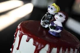 Halloween Wedding Cake by Amity Originals Halloween Wedding Wednesday The Cake