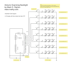 schematic diagram for scanning backlight blur busters note this is