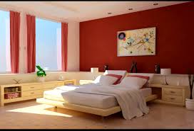 bedroom handsome bedroom walls color popular red wall paint