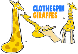 giraffe crafts for kids making giraffes with easy to make arts