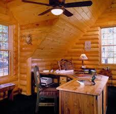 8 best log home office images on photo galleries