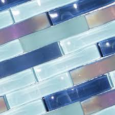 Blue Backsplash Tile by 156 Best Glass Backsplash Tile Images On Pinterest Glass Tiles