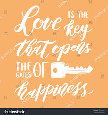 vector romantic quotes inspiration motivation stock vector
