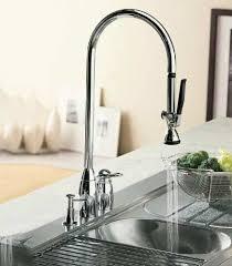 electronic kitchen faucets aquabrass unveils high tech i spray electronic kitchen faucet