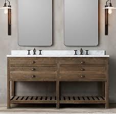 Best  Bathroom Vanities Without Tops Ideas On Pinterest - Bathroom vanities with tops restoration hardware