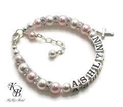 customized baby jewelry personalized baby bracelets for baptism customized baby bracelet