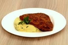 cuisiner escalope de veau recette de escalope de veau panée polenta au beurre d escargots