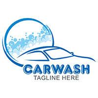 car wash logo template car logo templates codester