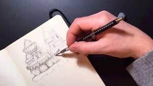 part 2 3 pencil drawing 2d platform environment for game concept