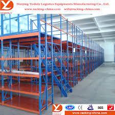 china high quality steel structure mezzanine platform racking