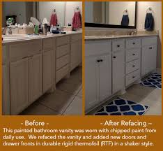 painted cabinets before and after why painting your cabinets isn t as easy as it looks on tv kitchen