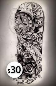 half sleeve tattoos for timeless half sleeve sketch