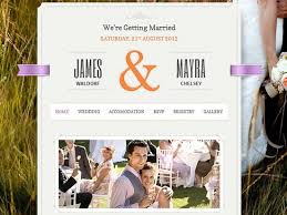 wedding site 20 best wedding website templates css html ginva