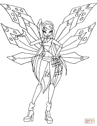 winx club musa coloring pages free coloring pages