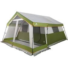 cabin tent ozark trail 8 person family cabin tent with screen porch walmart