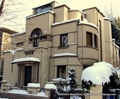 Art Deco House Designs Daily Picture 15 Feb 10 Superlative Bucharest Art Deco House
