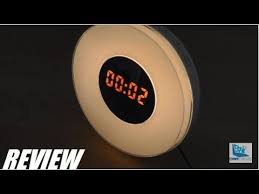 somneo sleep and wake up light review review sunrise simulation wake up light alarm clock gen 3 youtube