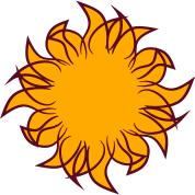 sun logo design cool stylish su t shirt
