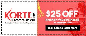 Kitchen Faucet Brand Logos Kitchen Plumbing U0026 Garbage Disposal Repair Service Fort Wayne