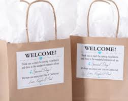 wedding hotel welcome bags hotel wedding welcome bags 25 out of town welcome bags
