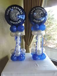 balloon arrangements for graduation graduation balloon decor nwiballoons