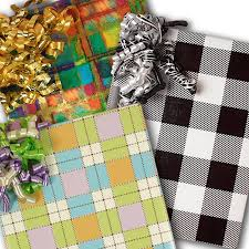 gingham wrapping paper plaid wrapping paper