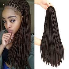 synthetic hair extensions 1pcs 4 18 faux locs dreadlocks crochet braiding hair synthetic