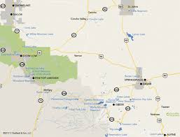 Arizona Counties Map by Lakes And Streams Of Pinetop Lakeside And The White Mountains Az