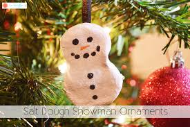 dough snowman ornaments the kreative
