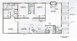 free modern home floor plans modern home floor plans designs