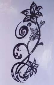 Tribal Torso - tribal flower torso design by chrismetalfreak on deviantart