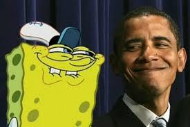 Obama Meme Face - spongebob and obama blank template imgflip