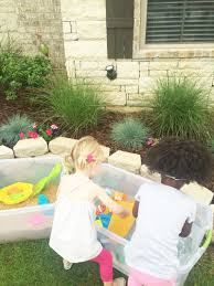 diy water and sand table idea water and sand sensory play ideas