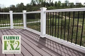 porch and deck railing vinyl u2022 composite u2022 aluminum railing