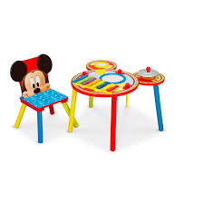 Mickey Mouse Chair by Disney Mickey Mouse Musical Table And Chair Delta Enterprise
