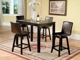 Unusual Ideas Counter Height Dining Chairs Home Design - Counter height dining table swivel chairs