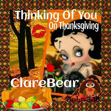 betty boop 1 thanksgiving tags home