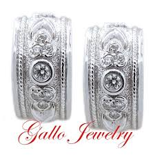 diamond huggie earrings vintage style diamond huggie earrings
