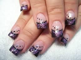 purple black and white nail designs choice image nail art designs