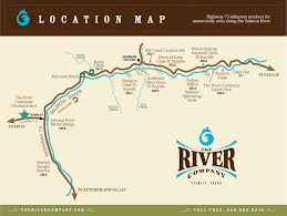 Idaho On Map Directions And A Map To The River Company In Stanley Idaho
