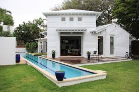 Metal Backyard Playsets by Lap Pool House Ideas Pool Contemporary With Roof Extension Metal