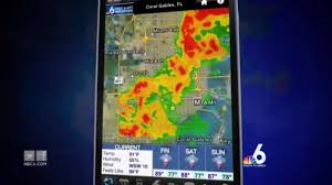 Coral Gables Florida Map by Nbc 6 U0027s First Alert Weather App Nbc 6 South Florida