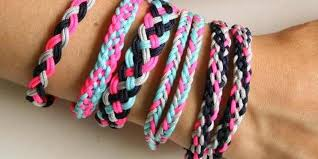 braided friendship bracelet images Custom order braided friendship bracelets nylon mertique jpg