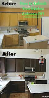 sunshiny diy resurface kitchen cabinets